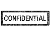 Office Stamp - Confidential poster