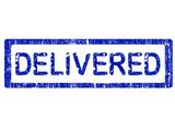 Office Stamp - Delivered poster
