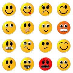 16 smileys