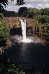 Rainbow Falls, Hilo, Hawaii USA