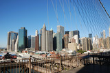 New York City from The Brooklyn Bridge