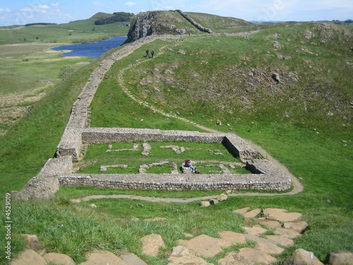 Hadrian's Wall Mile Castle