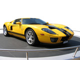Yellow super car on an exhibition stand poster