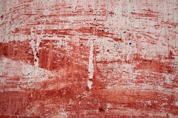 pintura desgastada en fachada