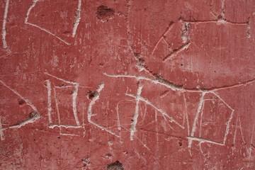 muro escrito