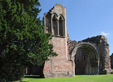 Historic Abbey ruins12th Century monastery in England poster