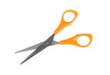 Sharp hobby scissors isolated on white background poster