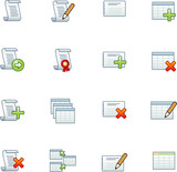 project database icons 1 poster