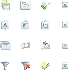 project database icons 2