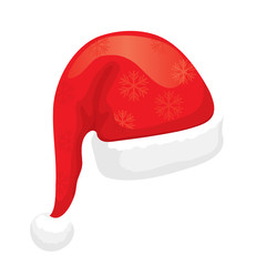 Santa Hat (editable vector or XXL jpeg image)