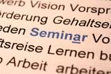 Fototapety Seminar