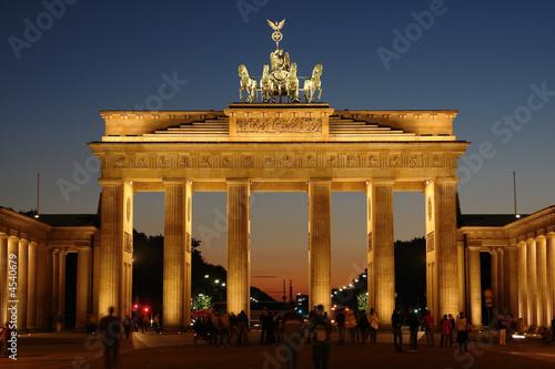 Leinwanddruck Bild Brandenburg gate