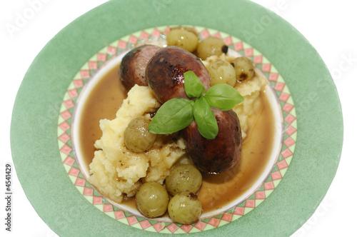 Delicious Gourmet Sausage dish