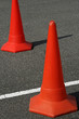 warning cones