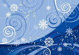 Winter Holidays (editable vector or jpeg image)