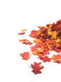 Fototapety artificial autumn leaves