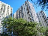 Condominium towers poster