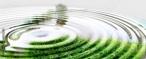 Leinwanddruck Bild Water Nature Splash