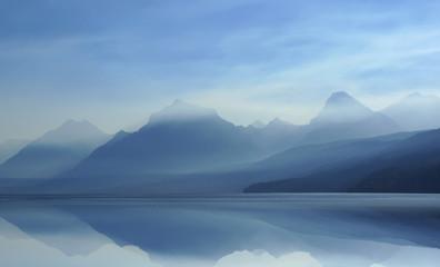 Misty Lake I 8-07