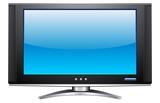 Plasma LCD TV poster