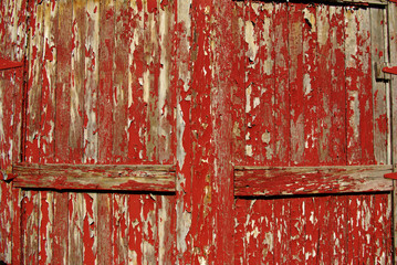 Old Red Doors A