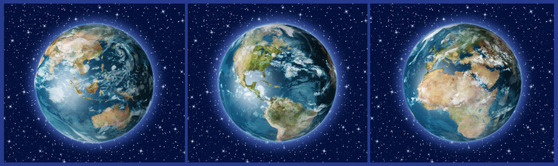 Three Earths A