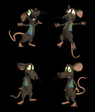 Cartoon Mouse- pack1b poster