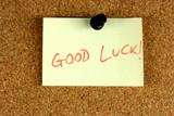 Good Luck poster