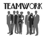 teamwork - together poster