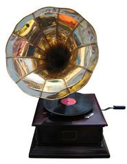 Retro grammophone.