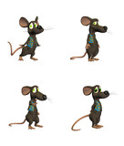 Cartoon Mouse- pack2 poster
