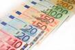 echelle des euro