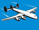 Propeller ariplane poster