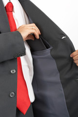 suit pocket