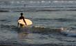 Surfer on the Kuta beach, Bali