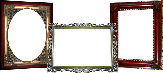 3 Ornate Frames
