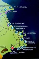 Ruta de los Miradores JAVEA (Alicante)