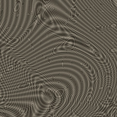Wavy metallic surface