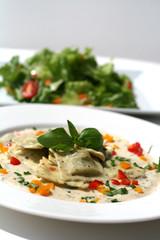 Spinach and Cheese Raviolis