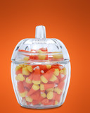 candy corn dish poster