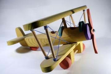 avión madera 1
