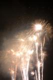 sparkling fireworks poster