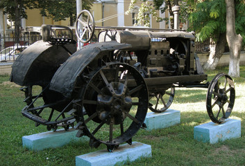 "Old soviet tractor ""Universal"""