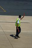 airport ground staff poster