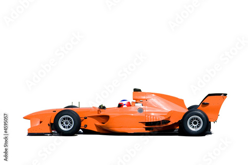 Fotobehang Formule 1 A1 Grand Prix Racing Car