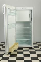 Opened fridge