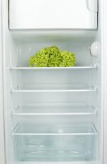 Lettuce in fridge