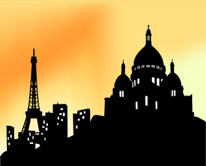 Panorama de Paris - Sacré Coeur