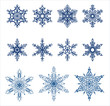 Vector snowflakes / Ideally for your use