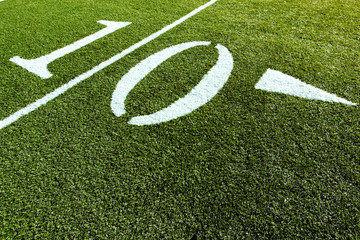 Football Field 10 yards